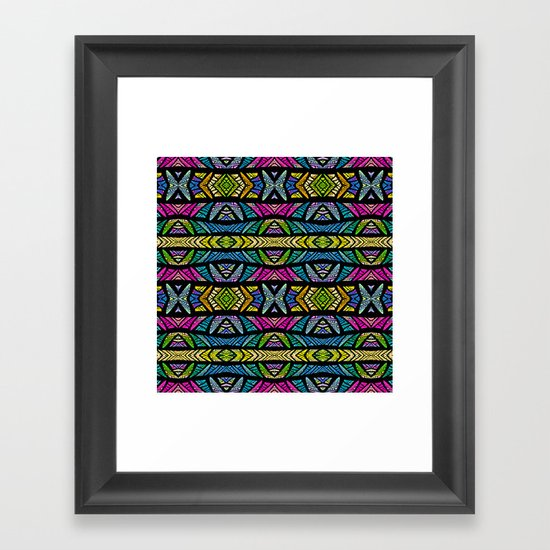 XOXO Framed Art Print