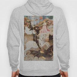 Saint George Killing the Dragon by Bernat Martorell, 1435 Hoody