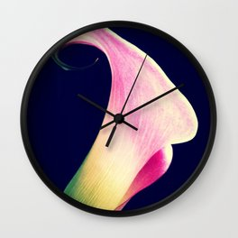 Calla Lily - iPhoneography Wall Clock