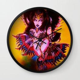Kitana The Angel of Death Wall Clock