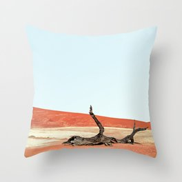 Deadvlei I Throw Pillow