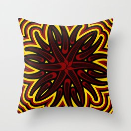 Blaze Throw Pillow