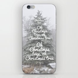 Oh Christmas Tree!  iPhone Skin