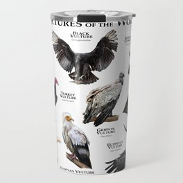 Vultures of the World Travel Mug