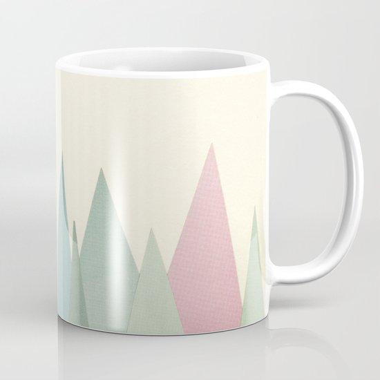 Snowy Mountains Mug