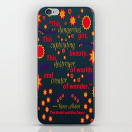 The Wrath and the Dawn by Renee Ahdieh iPhone Skin