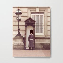 London Guard ♥ Metal Print