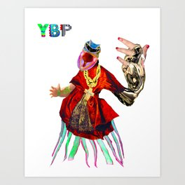 YOUNGBLOOD PRIEST Art Print