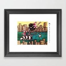 Bella Boat Framed Art Print