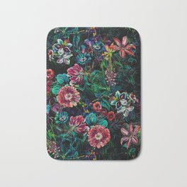 EXOTIC GARDEN - NIGHT IX Bath Mat