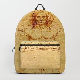 "Leonardo da Vinci ""The Vitruvian Man"" Backpack"