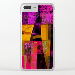 screwed up... Clear iPhone Case