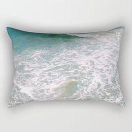 Crash Ashore Rectangular Pillow