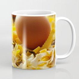 Fresh italian Pasta with egg Coffee Mug