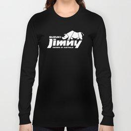 Suzuki Jimny Owners of Australia - Rhino Mono Reversed Long Sleeve T-shirt