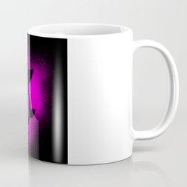 Splash Mermaid Silhouette Girl Motif Coffee Mug
