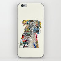 mod iPhone & iPod Skins featuring the mod boxer by bri.b