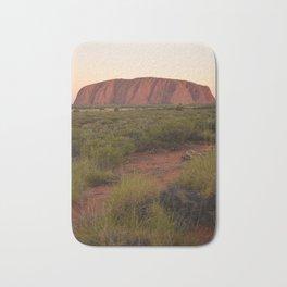 Sunset at Uluru Bath Mat