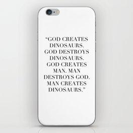 Jurassic Park iPhone Skin