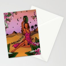 Tattoo Aquarius Stationery Cards