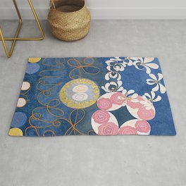The Ten Largest No. 01 Childhood Group IV Hilma Af Klint Rug