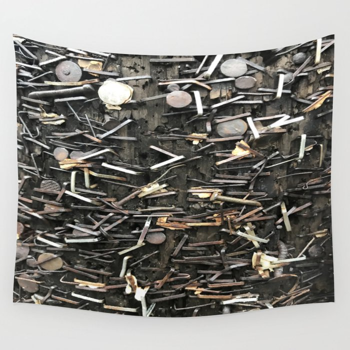 Staples and Nails it! Wall Tapestry