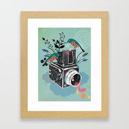 Vintage Camera Hasselblad Framed Art Print