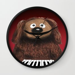 Rowlf Wall Clock