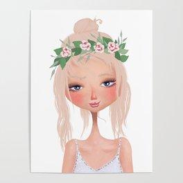 careless summer girl Poster