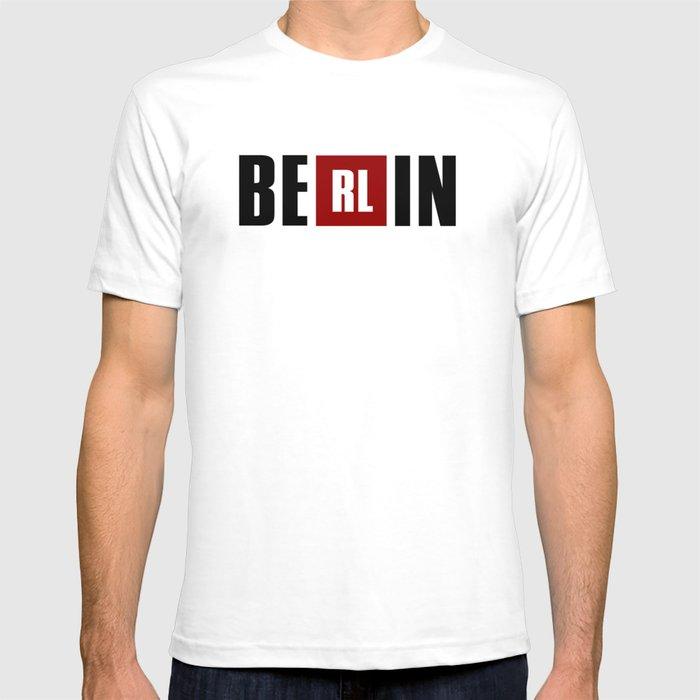 1771ab9c322 La Casa de Papel - BERLIN T-shirt by sense69