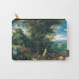 Jan Brueghel - The Garden Of Eden Carry-All Pouch