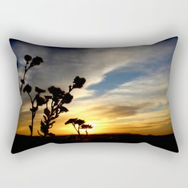 And Not Fade Away Rectangular Pillow
