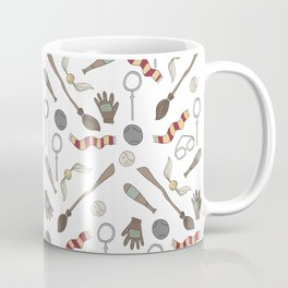 Wizard Sports - wizard, witch, book, story, spells, quaffle, bludger, snitch, literature, broom, sch Coffee Mug