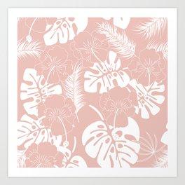Tropical pattern 020 Art Print