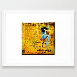 Hinne100 Framed Art Print