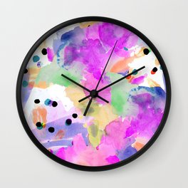 the funky road Wall Clock