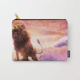 Roaring Space Lion Carry-All Pouch