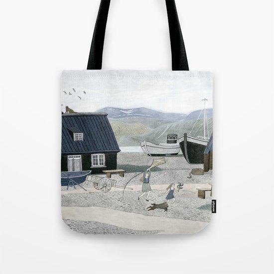 North Fishing Village Tote Bag