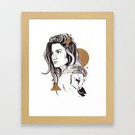 Foreword Framed Art Print
