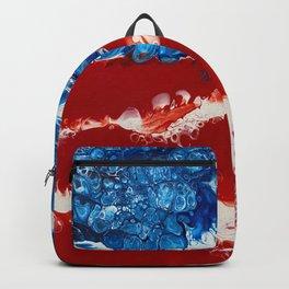 Patriotic Acrylic Backpack
