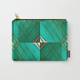 Patrick's Pleated Plaid Carry-All Pouch