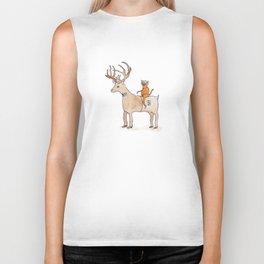Deer Suit, Cat Suit Biker Tank