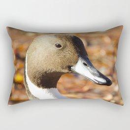 Autumn Northern Pintail Rectangular Pillow