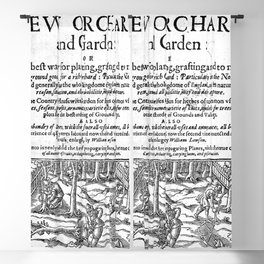 A new orchard and garden 1623 Blackout Curtain