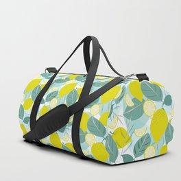 Lemons and Slices Duffle Bag