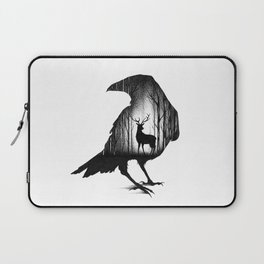 THE RAVEN AND THE DEER Laptop Sleeve