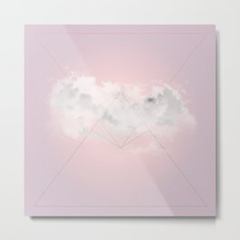 Ocean Cloud Metal Print