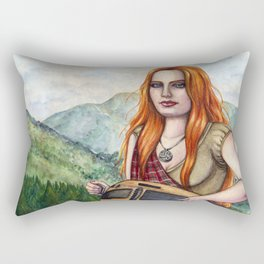 The Song Of The Mountains Rectangular Pillow