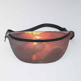 Sunset at the canyon Fanny Pack