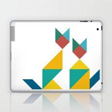 Tangram Cats 1 Laptop & iPad Skin